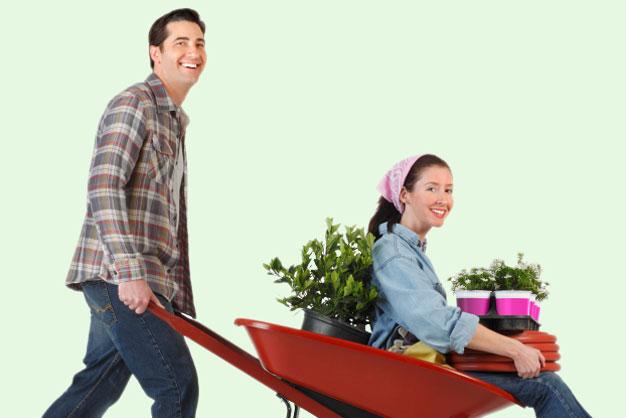 Wir unterstützen Sie bei der Gartenarbeit
