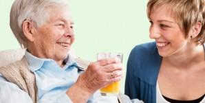 Wir betreuen Senioren